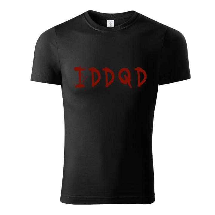 Tričko doom iddqd