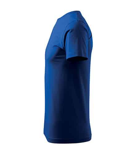 Pánské tričko bez potisku - barva Královské modrá