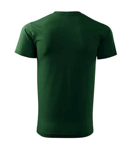 Lahvově zelené tričko