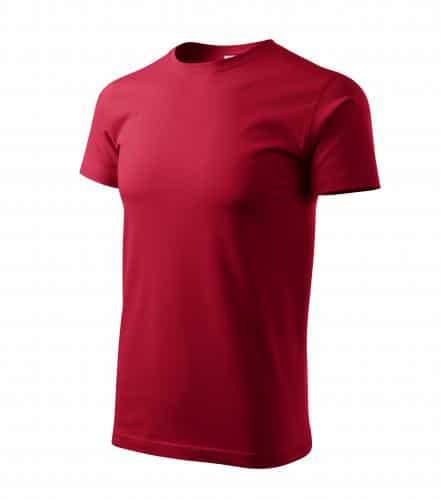 Pánské tričko bez potisku Marlboro červené