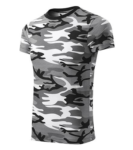 Pánské tričko Camouflage gray