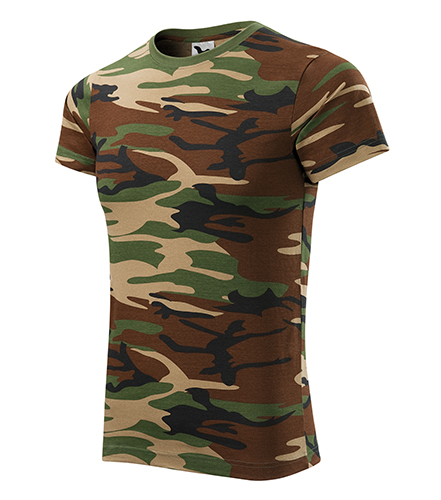 Pánské tričko Camouflage green