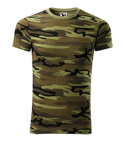 Panske tričko Camouflage green