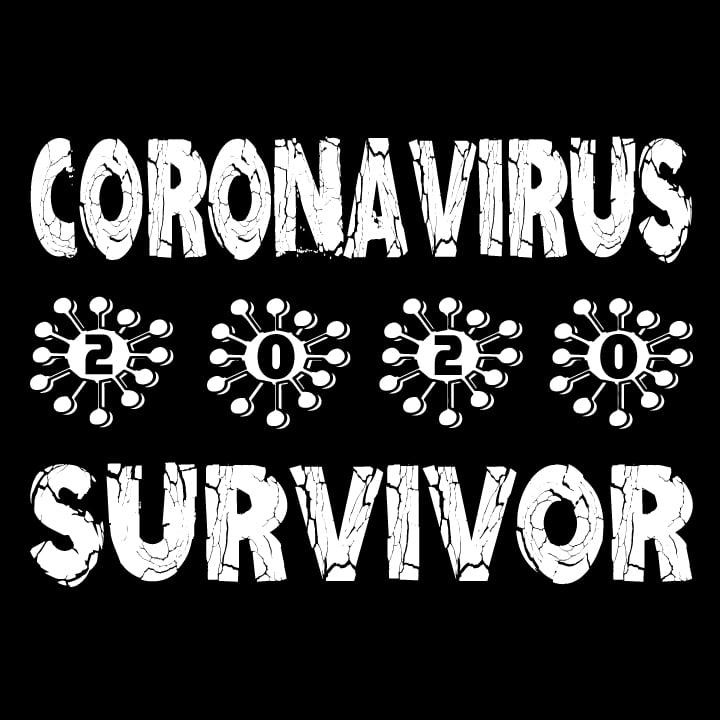 Korona virus tričko Coronavirus Survivor